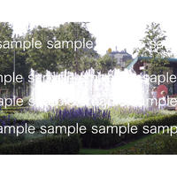 デジタル写真データ アムテルダムの噴水2014 『Hide&Seek』designed by Jepp Hein