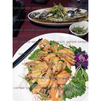 海老料理 台湾料理  Shrimp dish  デジタル写真データ digital photo data