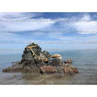 伊勢の夫婦岩  couple rock   デジタル写真データ digital photo data