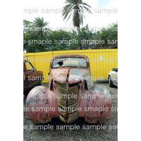 古いレトロな車  ハワイ デジタル写真データ digital photo data