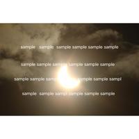 04金環日食 2012年 Annular solar eclipse  デジタル写真データ digital photo data