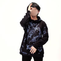 Pullover Parka 青の能動