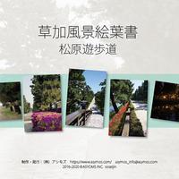 草加風景絵葉書(松原遊歩道)