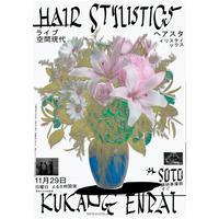 11月29日(日)  外 配信ライブチケット【Hair Stylistics / 空間現代】