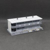 【受注生産】GREEN MAX 近代型詰所(塗装・組み立て完成品)