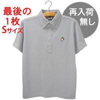 アンブレラマブイくんボタンダウンポロシャツ(グレー)