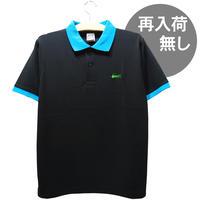 ラクニシテドライポロシャツ(ブラック)