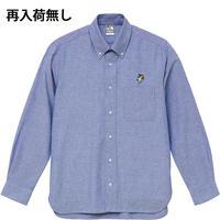 アンブレラマブイくんボタンダウンシャツ(OXブルー)