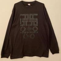 ALKDO/ハングルモドキ LongT-shirts SUMI/Black