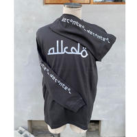 ALKDO / アラビックDECONTROL  LongT-shirts black