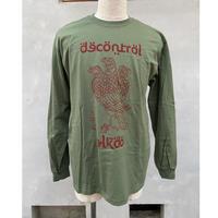 ALKDO / 三頭一足鷹 DECONTROL  LongT-shirts MG
