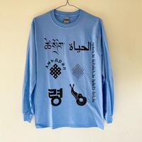 ALKDO/生命 LongT-shirts CABlue