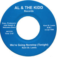 "[SG-037] (AK1210) Keni St. Lewis - We're Going Nonstop (Tonight) (7"" Vinyl)"
