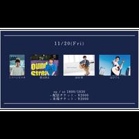 【11/20(Fri)】-配信チケット- 市川聖 / 勝又啓太 / はぴぐら / ミツハシヒロキ