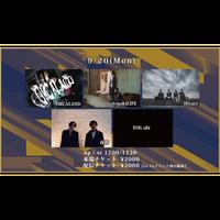 【Go Toイベント対象】【9/20(Mon)】-配信チケット- ORCALAND / tegakiLIFE / Hivari / 夜桜 / FOGslit