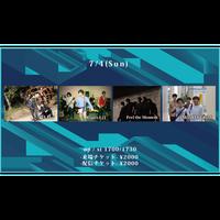 【7/4(Sun)】-配信チケット-  唱頂の大員/猫も杓子/Feel the Moment/MONKEY GROW