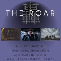 【10/3(Sat)】-来場者チケット-  月がさ×Hivari×マッドネスマンボウ 3MAN 『THE ROAR』