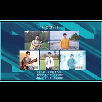 【7/2(Fri)】-配信チケット-   ぬまのかずし/高沢渓太/妃俊行/はぴぐら/田中さとる