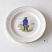 [GIEN] フランスの民族衣装シリーズデザート皿 -2   (PL67)   1枚