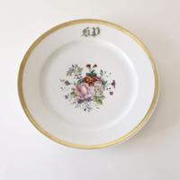 花柄のデザート皿   (PL64)    1枚