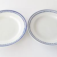 [TOURNAI]  麦の穂柄皿   (PL6) 1枚