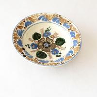 手描き花の絵皿   (PL61)    1枚