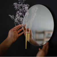 "REINE(レーヌ)""float mirror ROUND L(26cm)/ フロートミラー ラウンド L"""