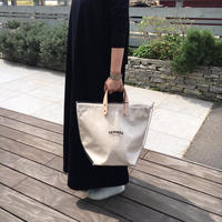 """TEMBEA(テンベア)""""DELIVERY TOTE PVC / デリバリートート M(透明/NATURAL)"""""""