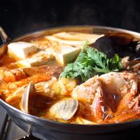へムルタン鍋 [冷凍スープ1000ml、魚介類、野菜等(約2人前)]