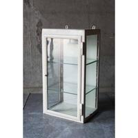 Denmark 鉄枠ガラスショーケース