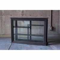 木枠ガラスショーケース(黒)