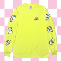 マストアイテムLONG T-SHIRTS🍌LightYellow