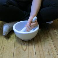乳鉢・乳棒セット5寸(15Cm)