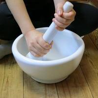 乳鉢・乳棒セット7寸(21Cm)