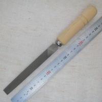 鉄工ヤスリ150mm  油目