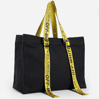 OFF-WHITE  CANVAS TOTE