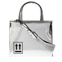 OFF-WHITE  Mirror Box Mini metallic leather bag