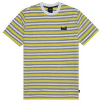 HUF ROCKAWAY S/S KNIT TOP AURORA YELLOW