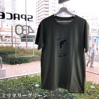 SPACEARK S/S TEE (ミリタリーグリーン)
