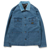 DENIM INSULATE COVERALL (H-WASH) size1