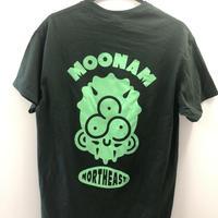 【スパイスキッチンムーナ】 オリジナルTシャツ 『ネット限定カラー 緑×蛍光グリーン』
