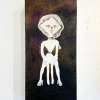 中村幸子「イスになるジャンプスーツ」  原画作品