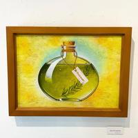 星野哲朗「olive oil rosemary」原画作品