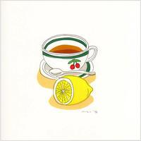 安西水丸「レモンティー」