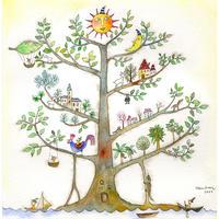 はんまけいこ「The Tree village」