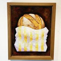 星野哲朗「パン袋」原画作品