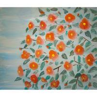 小池アミイゴ「群馬の椿」原画