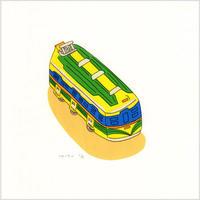 安西水丸「バス」