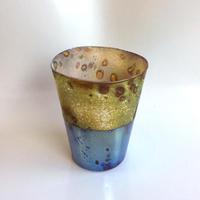 宮本崇輝 ガラス作品「水平線グラス」