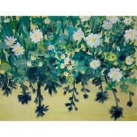 小池アミイゴ「只見の花」原画